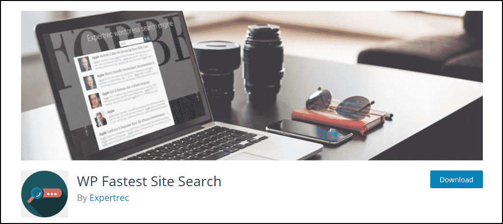 WP Fastest Site Search