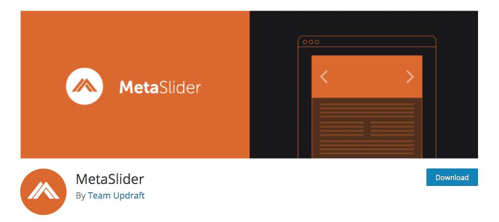 Wordpress meta slider plugin