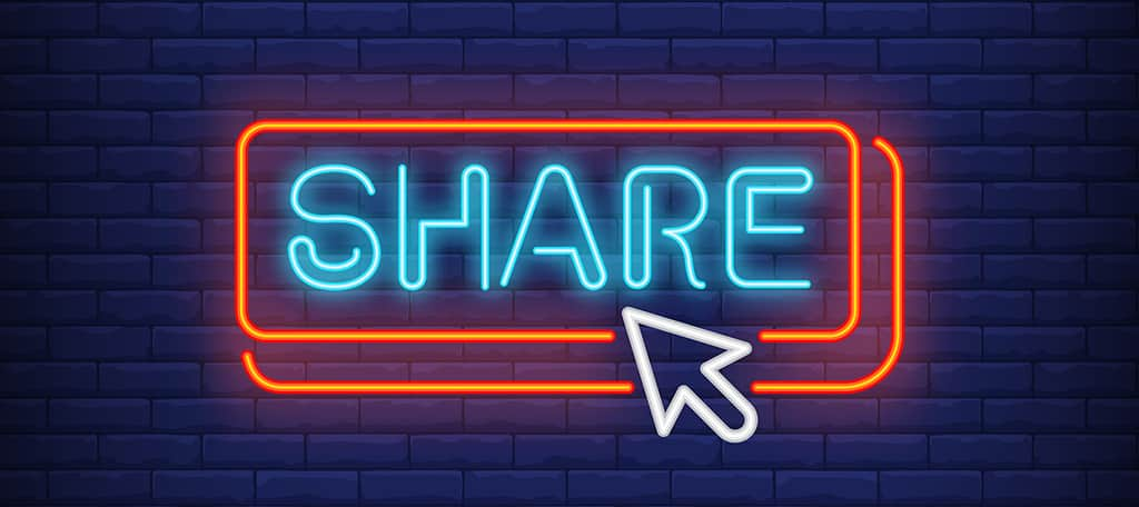 Use good share buttons to increase social shares