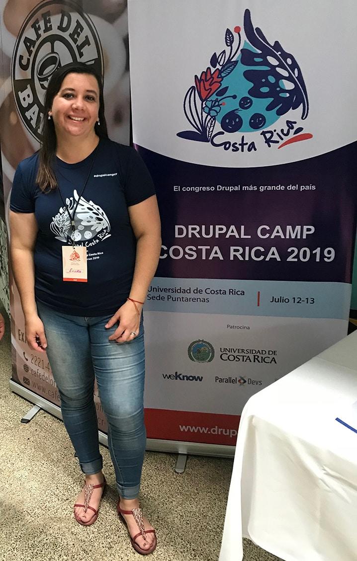 Ericka Barboza Drupal Camp 2019