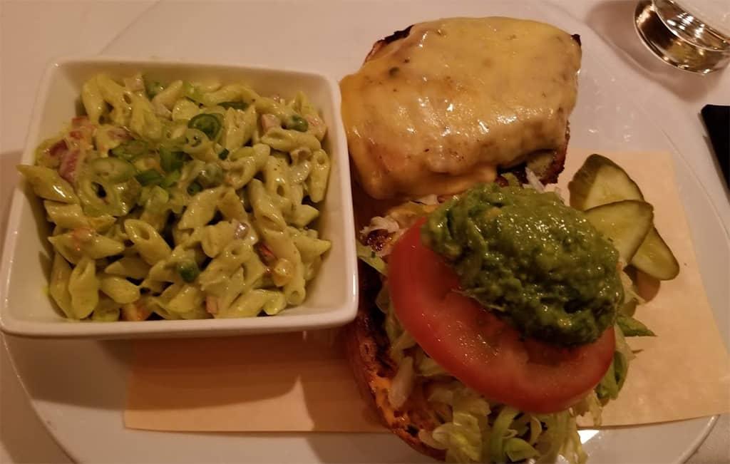 Grilled Chicken Basil Pesto Pasta