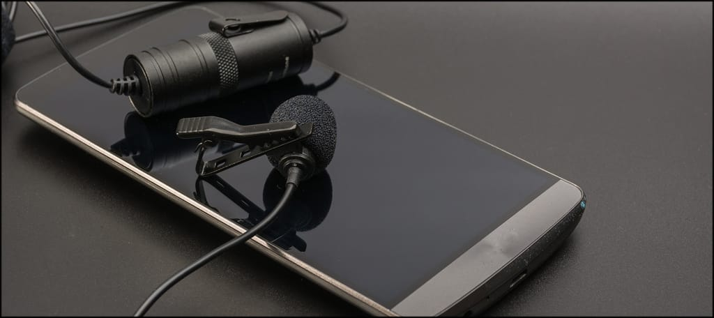 Lapel Mic And Smartphone