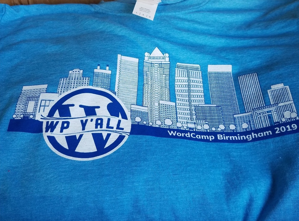 WordCamp Alabama Shirt