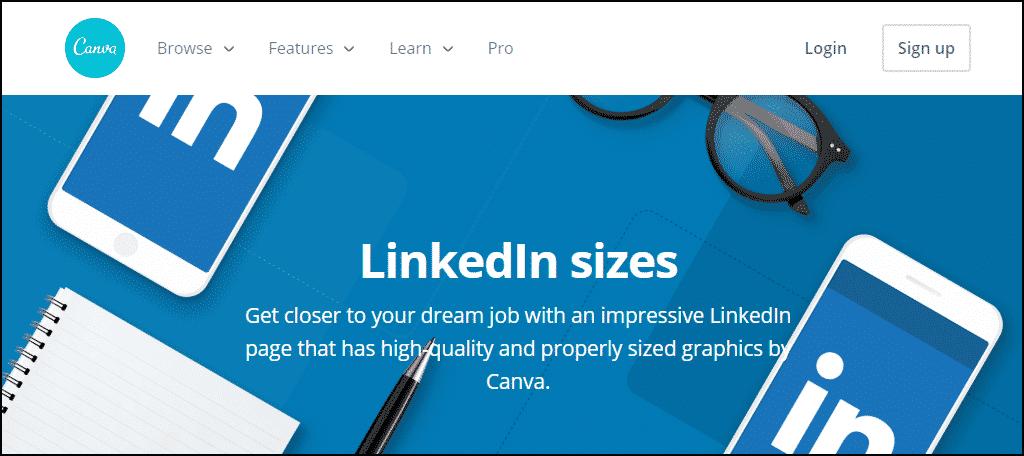 Canva LinkedIn
