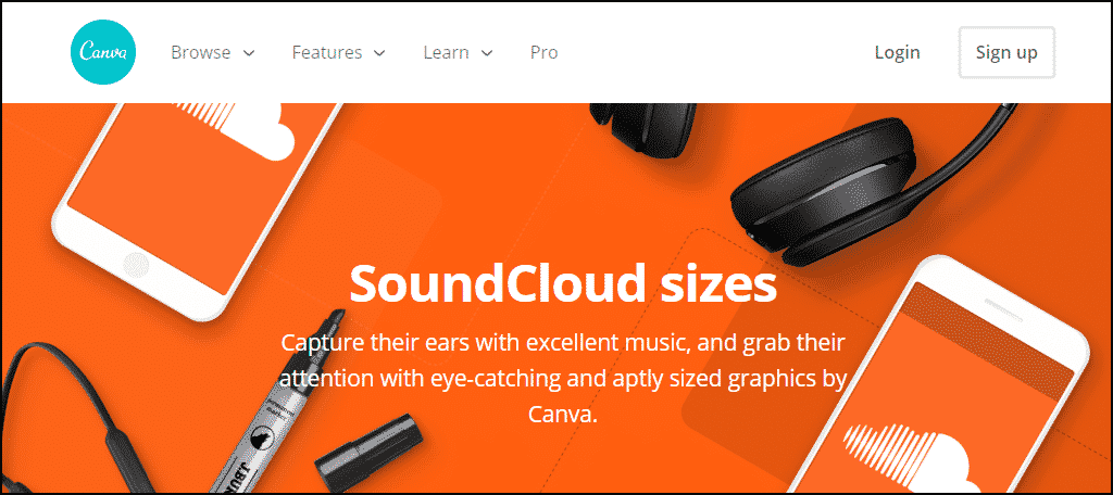 Canva SoundCloud