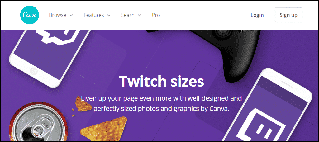 Canva Twitch