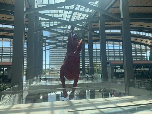 Sacramento Airport Statue