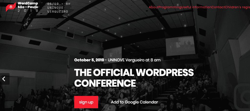 WordCamp São Paulo