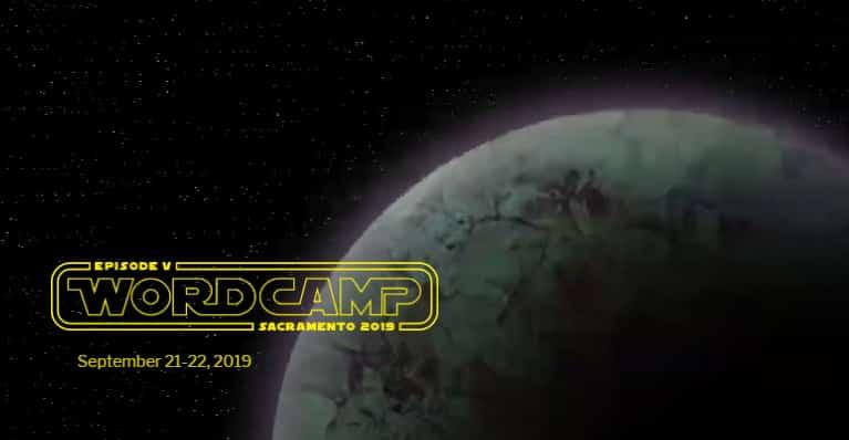 WordCamp Sacramento 2019