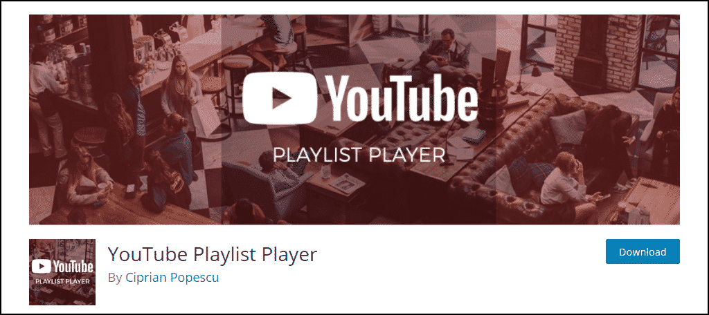 YouTube Playlist Player