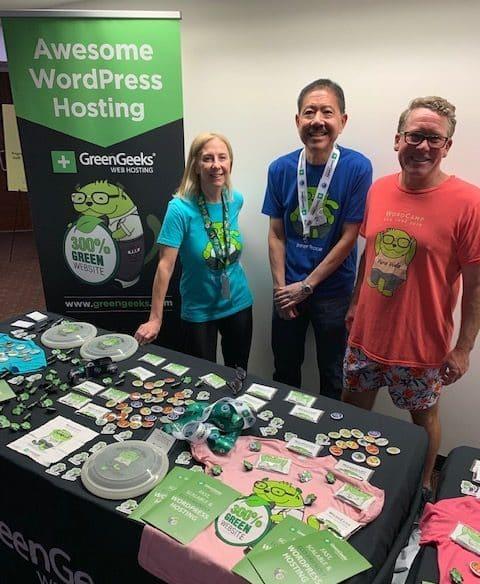 GreenGeeks Table