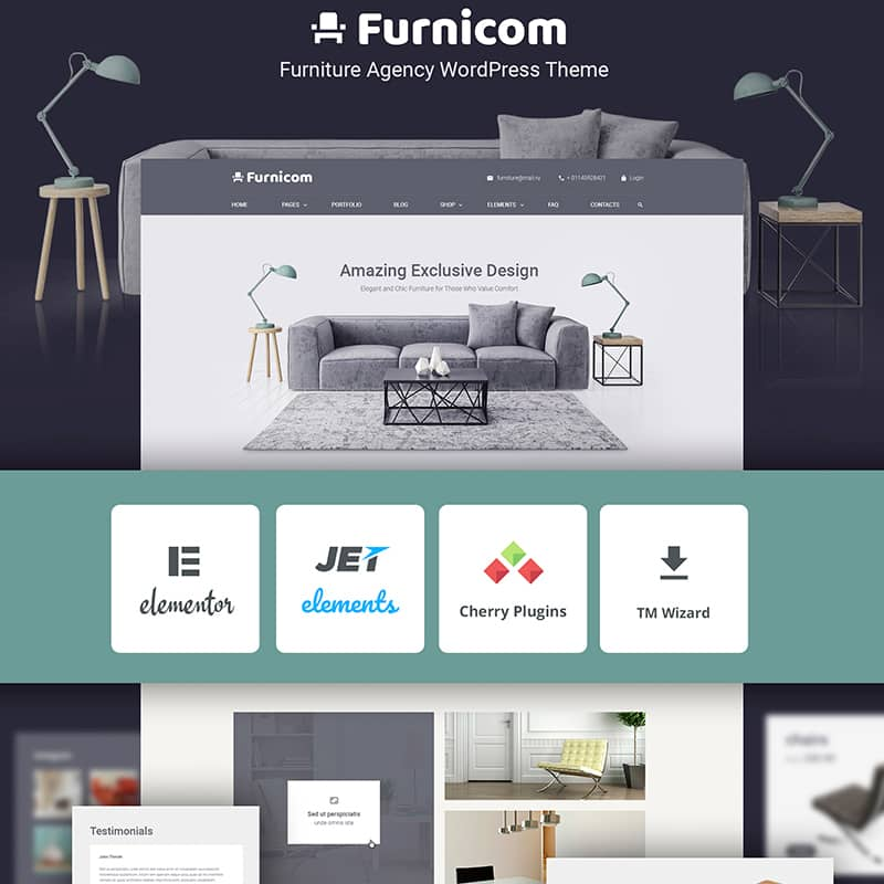 Furnicon Free Theme