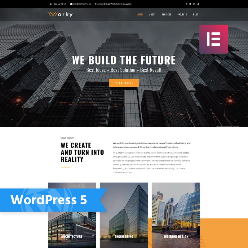 Worky Multipurpose Theme