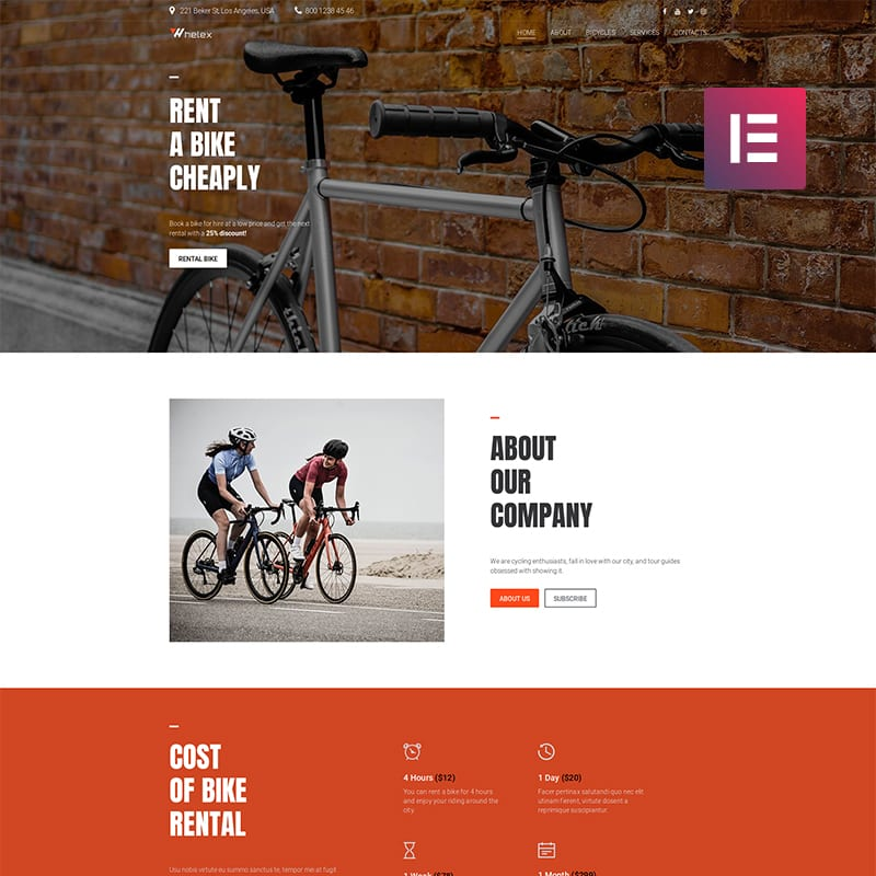 Whelex WordPress Theme
