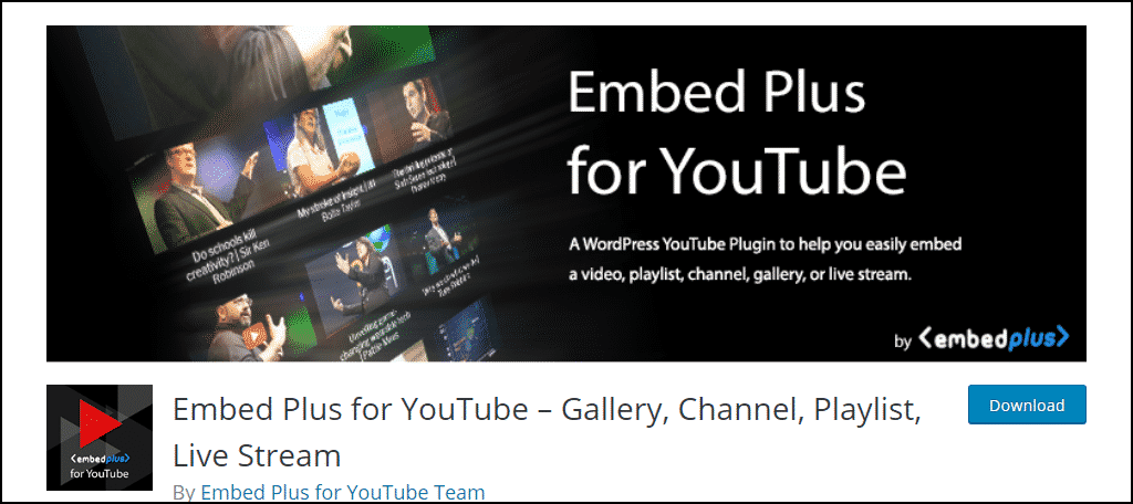Embed Plus