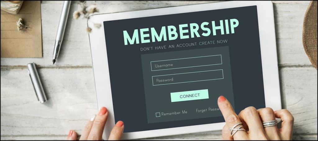 Website Memberships