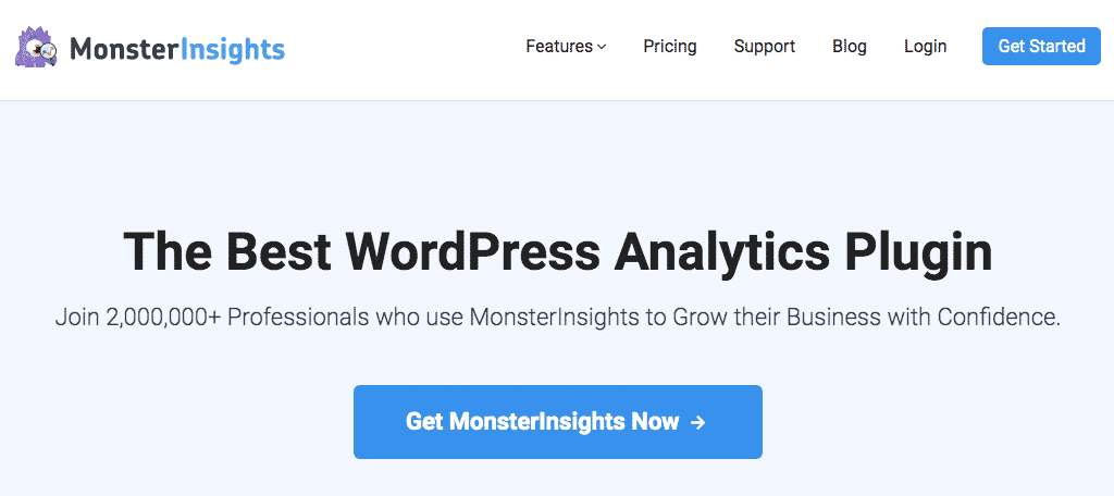 MonsterInsights to find content