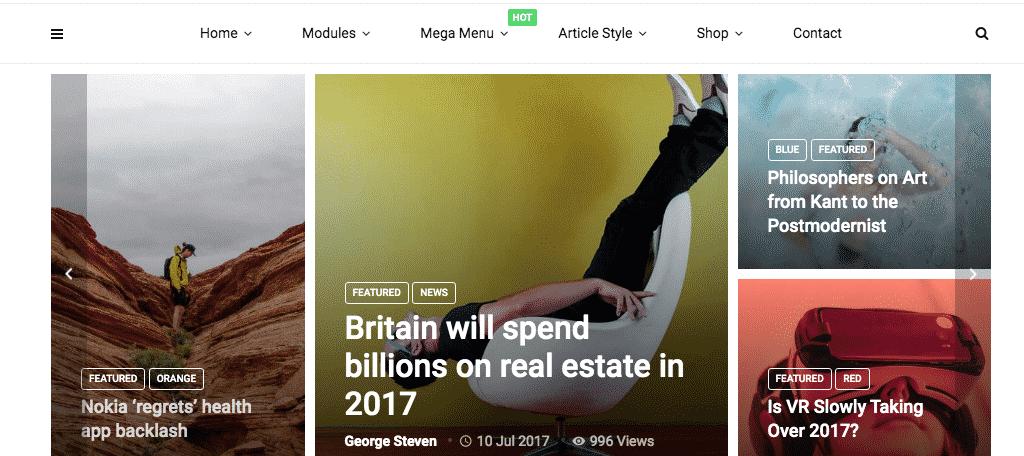 MagPlus news wordpress theme