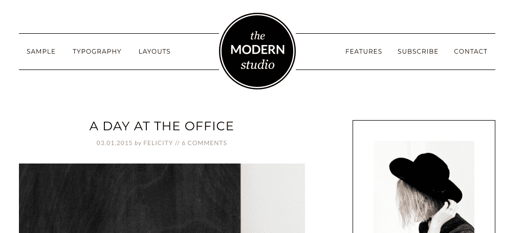 Modern studio pro photography theme