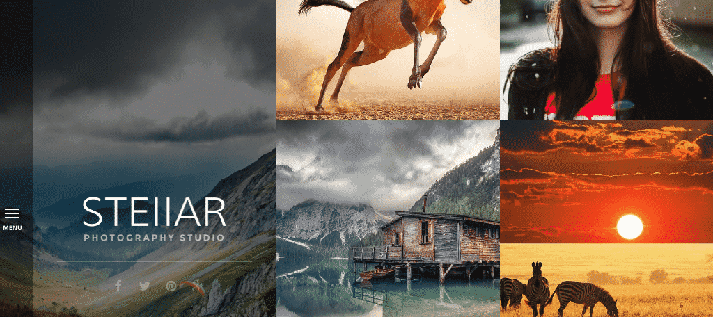 Stellar photography themes