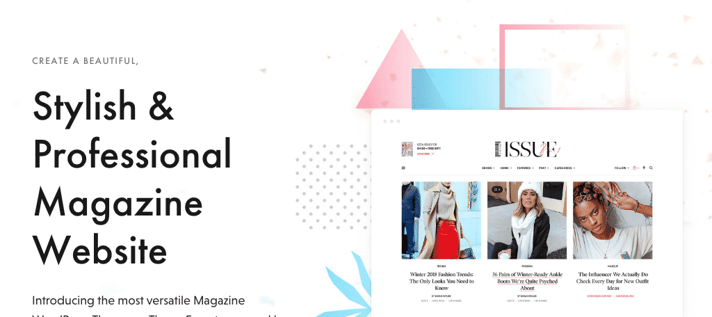 The Issue magazine themes for wordpress