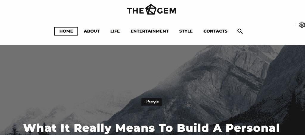 TheGem wordpress magazine theme