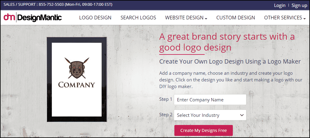 Logo Makermake A Logo & Add To Your Site Instantly