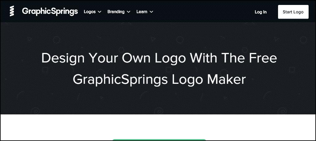 Graphic Springs website