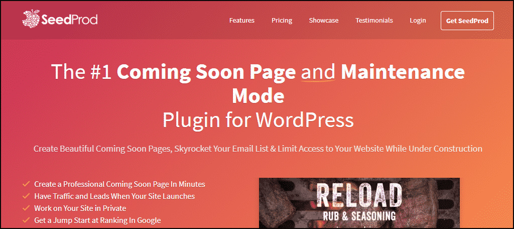 SeedProd WordPress plugin