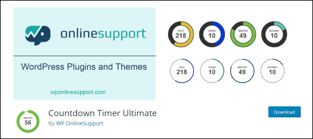Countdown Timer Ultimate WordPress plugin