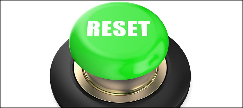 Reset the Website