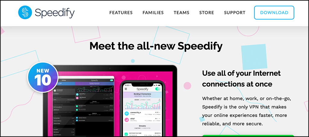 Speedify free vpns