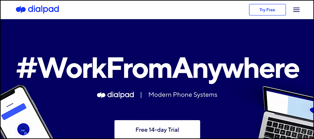 Dialpad VoIP service provider