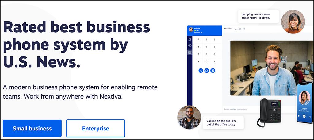 Nextiva business VoIP provider