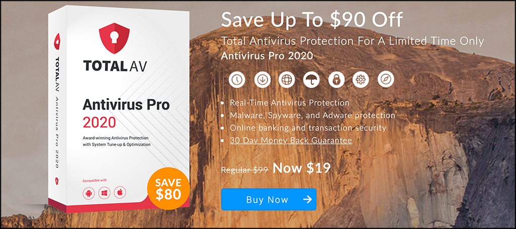 TotalAV malware removal and protection software