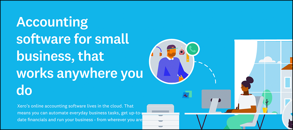 Xero small business accounting software