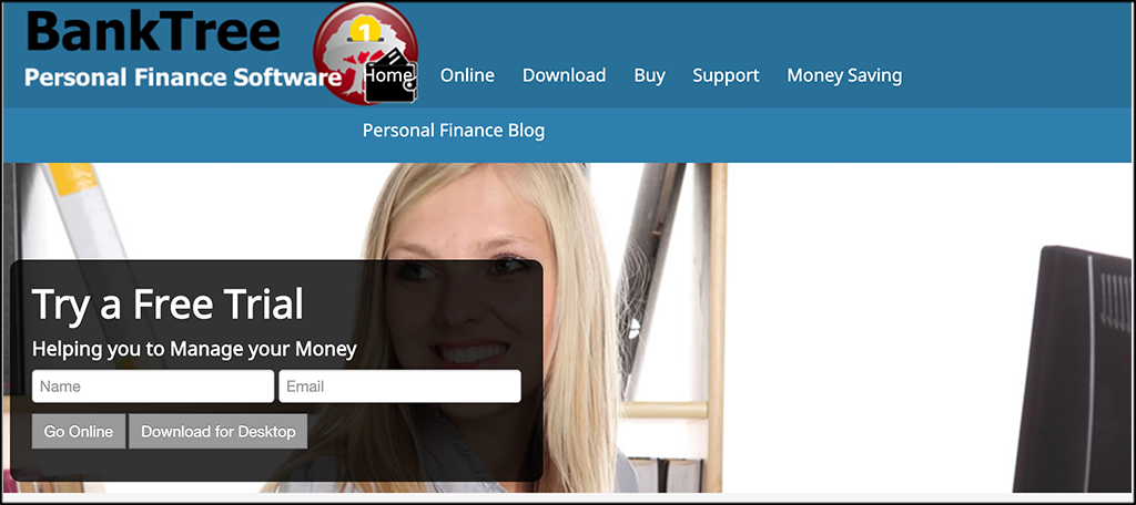 Banktree personal finance services