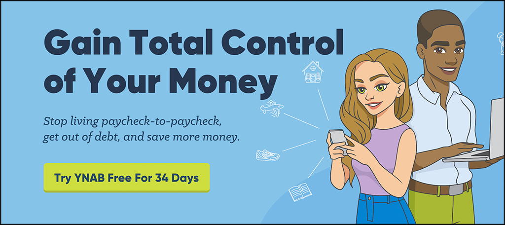 YNAB personal finance services