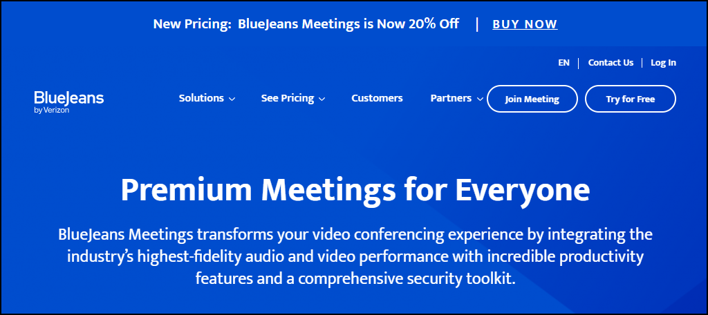 BlueJeans Meetings