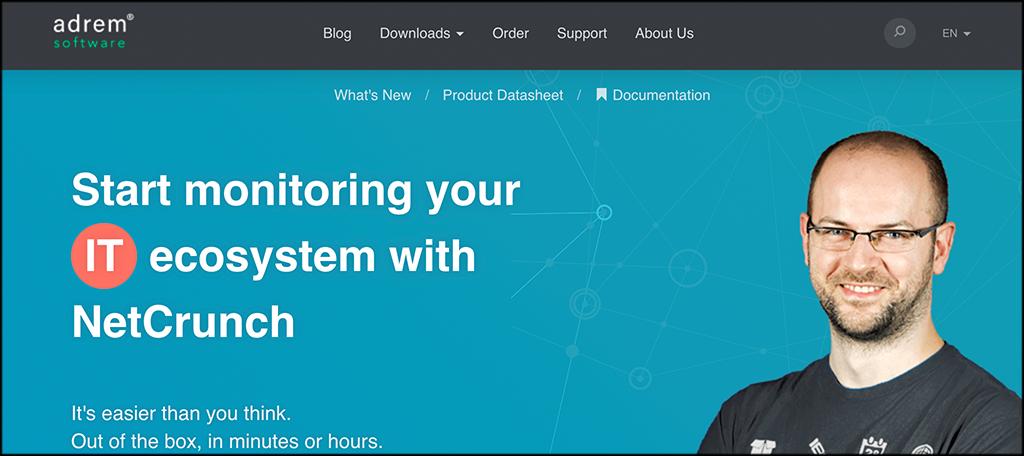 NetCrunch network monitoring software