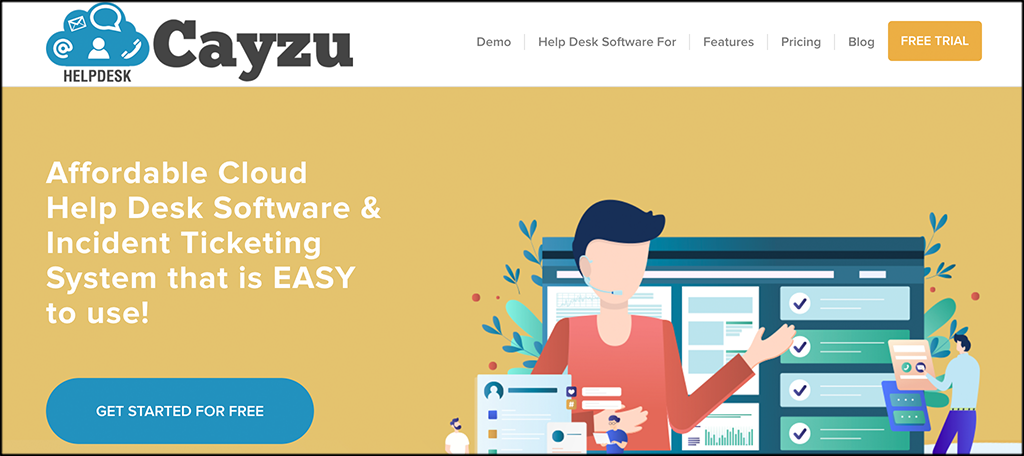 Cayzu help desk software