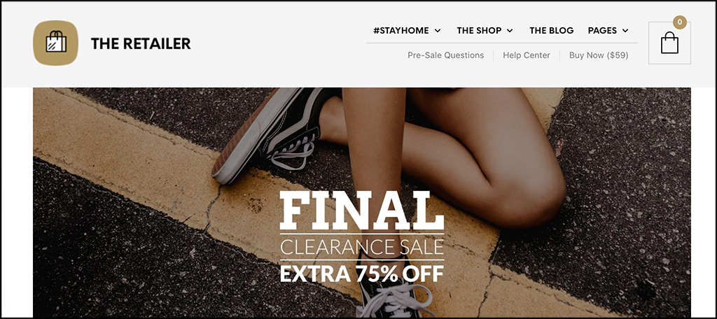 The retailer woocommerce elementor themes