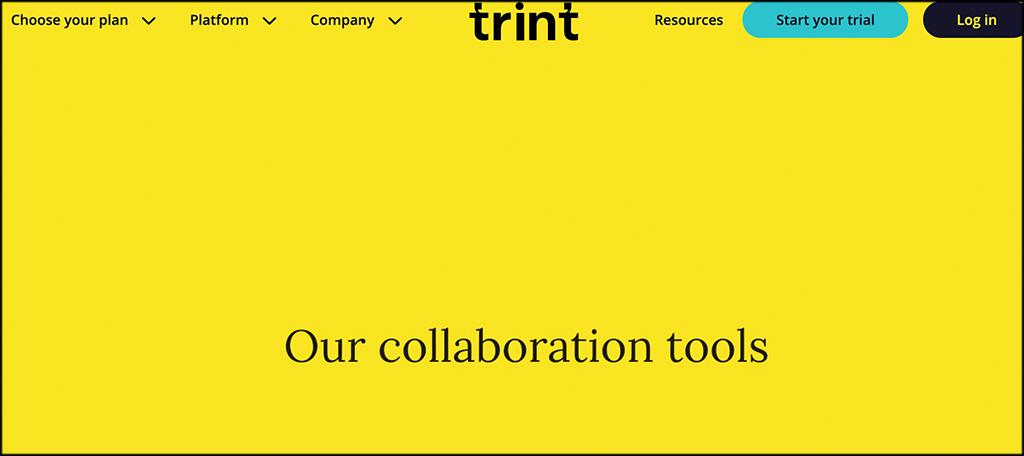 Trint transcription services