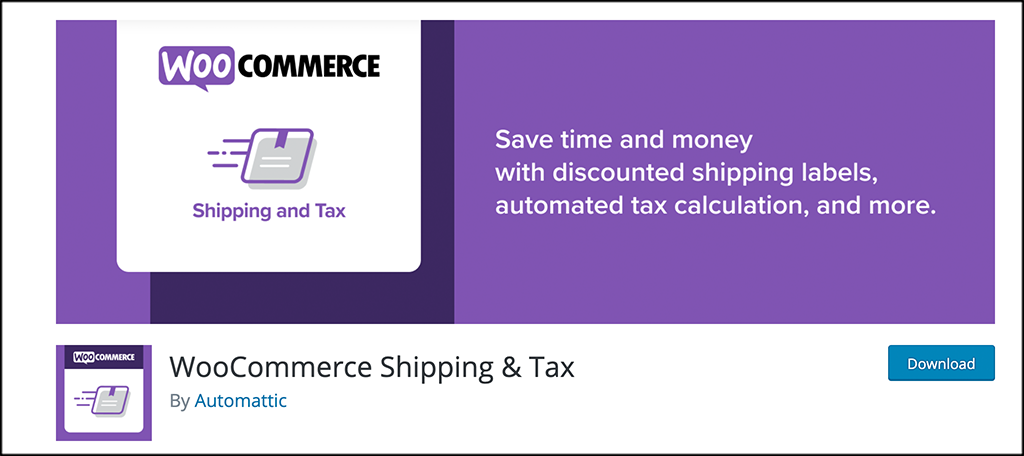Free woocommerce plugins shipping and tax