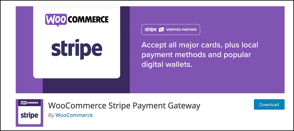 Free woocommerce plugins stripe payment gateway