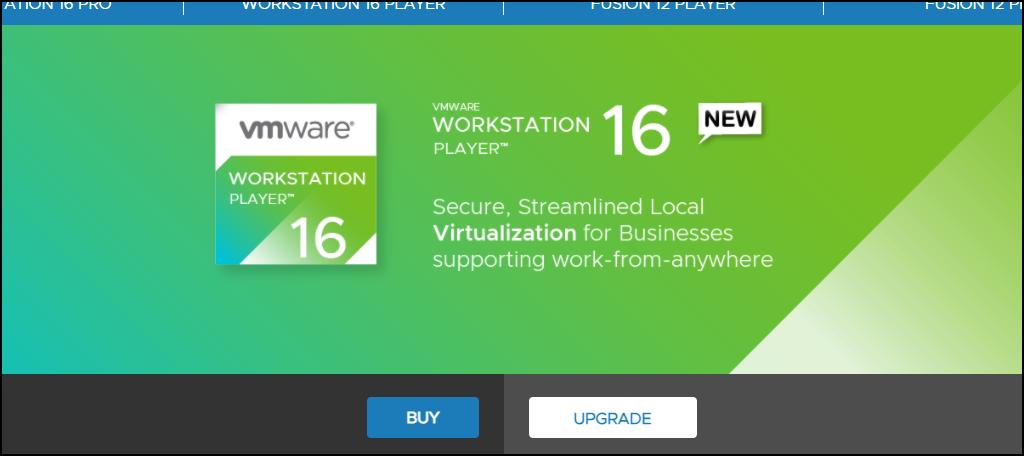 Workstation Player