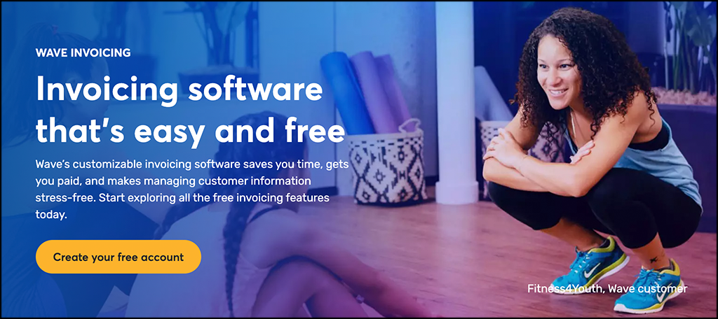 Wave invoicing software
