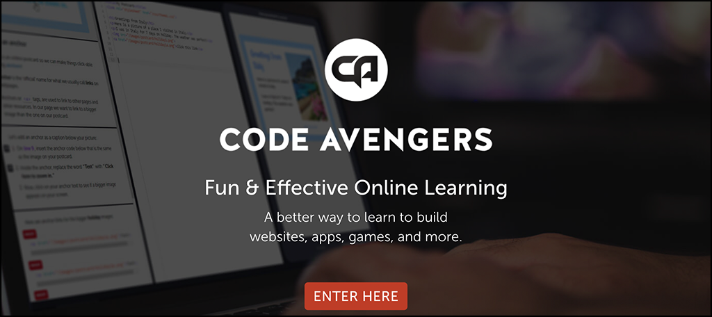 Code Avengers programs for learning code