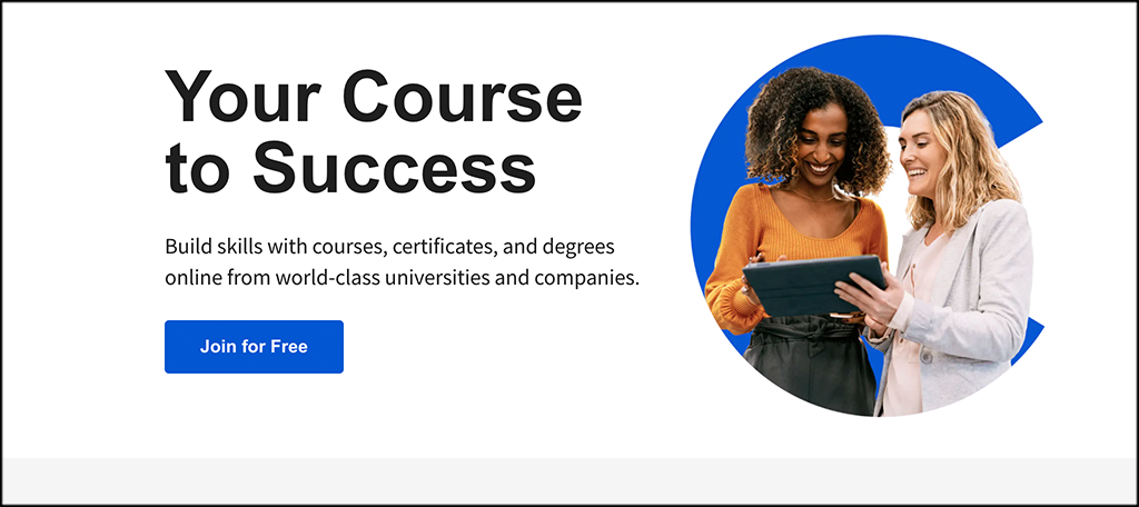 Coursera programs for learning code