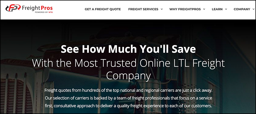 FreightPros ecommerce fulfillment service